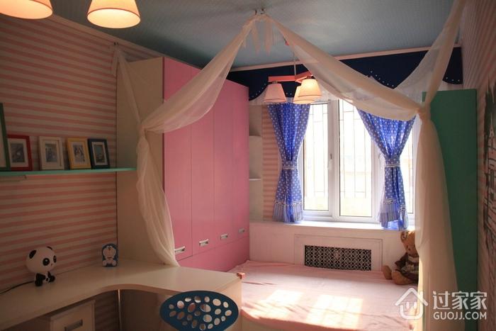 粉丝简约小屋欣赏卧室衣柜