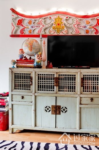 现代住宅风格效果赏析电视柜