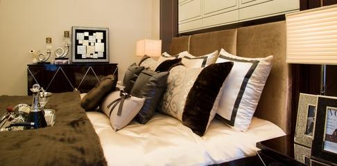 新古典装饰设计主卧床品
