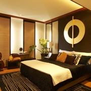 东南亚风格效果图卧室