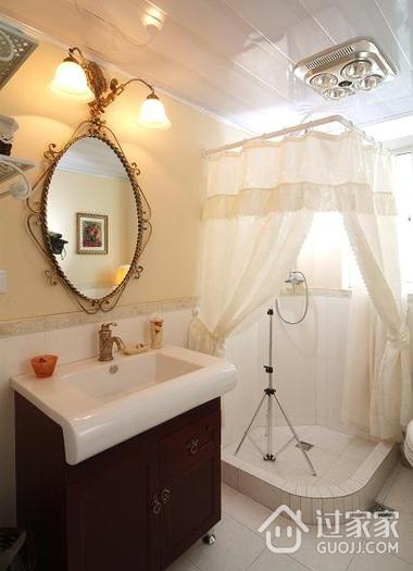 复古创意卫生间灯饰效果图 不一样的家居