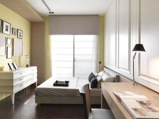 简约家装两居室设计欣赏卧室效果图