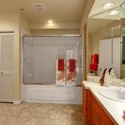 美式风格装修赏析卫生间