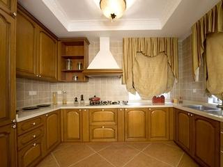 浪漫法式风格住宅欣赏厨房
