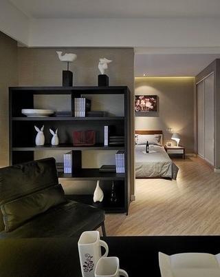 现代温馨两居室欣赏卧室