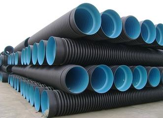 HDPE塑钢缠绕管八大性能特点