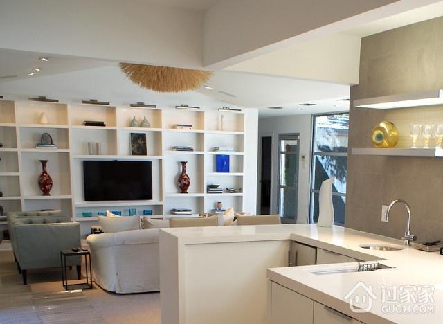 现代风三居室案例住宅欣赏