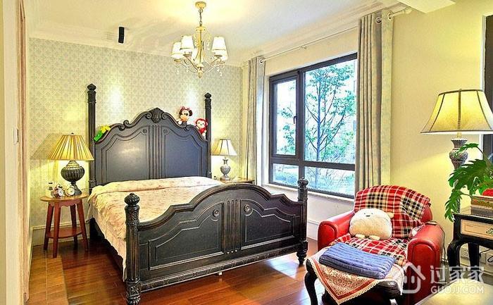 混搭卧室灯饰装饰效果图 温馨浪漫