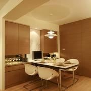 83平日式风格住宅欣赏餐厅陈设