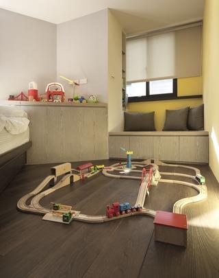 现代风家居设计儿童游戏室