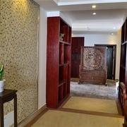 韵味中式住宅欣赏客厅背景墙