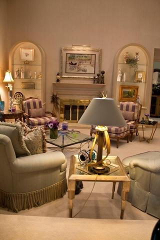 欧式设计装饰欣赏客厅效果