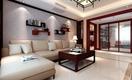 中式风三居室效果图欣赏
