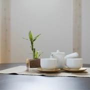 日式清爽复式楼欣赏餐厅