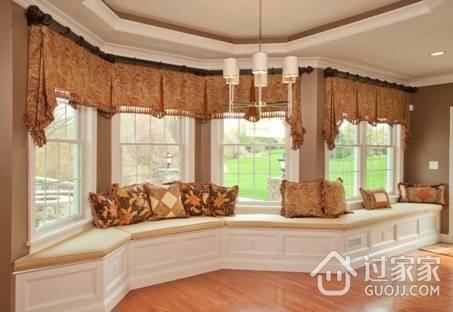 飘窗窗帘怎么装 飘窗窗帘安装方法