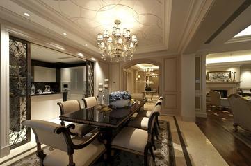 新古典大宅设计欣赏餐厅设计