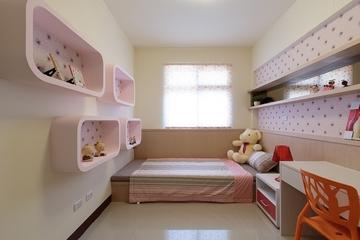 明亮简约三室两厅欣赏儿童房