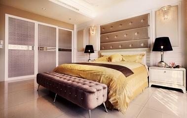低调新古典奢华住宅欣赏卧室效果