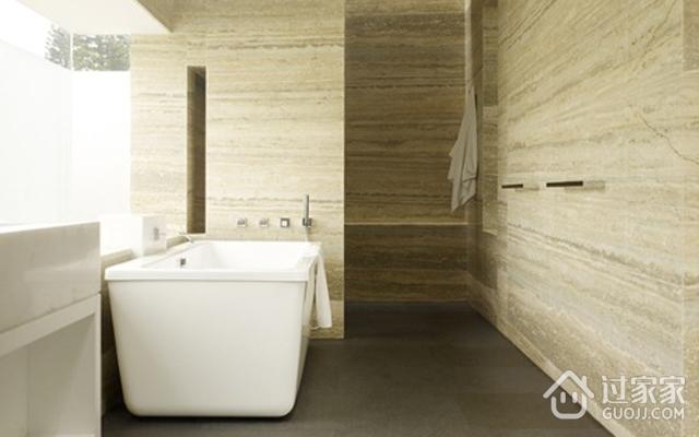 探寻材质本身质感的现代风格卫生间