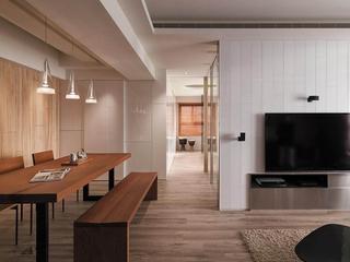 现代风两居室住宅欣赏餐厅效果图