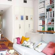50平波西米亚北欧住宅欣赏客厅效果