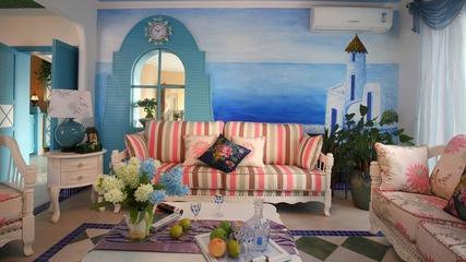 蓝色地中海住宅案例欣赏