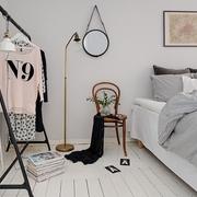 60平北欧舒适公寓欣赏卧室