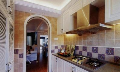 品质地中海住宅欣赏厨房橱柜