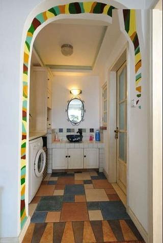 79平地中海小清新住宅欣赏厨房橱柜