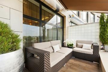 新古典舒适住宅欣赏阳台陈设