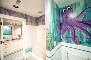 法式乡村别墅欣赏洗手间
