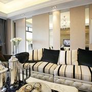欧式风格设计图客厅沙发