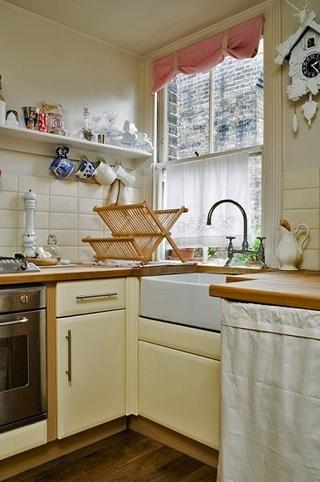 灰色系迷人混搭家欣赏厨房