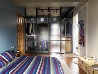 115平现代个性公寓欣赏卧室陈设