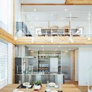 117平日式风格别墅欣赏餐厅效果图
