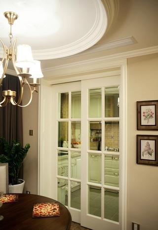 115平美式温馨住宅欣赏餐厅局部