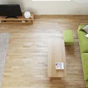 112平日式风格住宅欣赏客厅设计