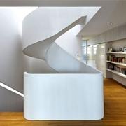 现代别墅设计全景楼梯