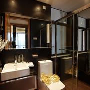 简约风玻璃浴室