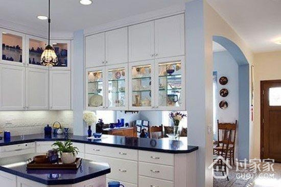 小户型装修厨房收纳重点区域