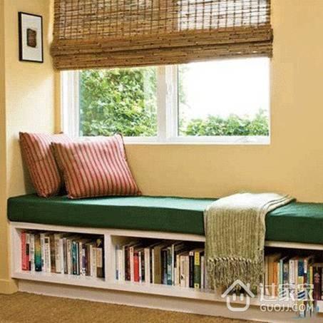 多功能飘窗设计 小户型也可以有大飘窗