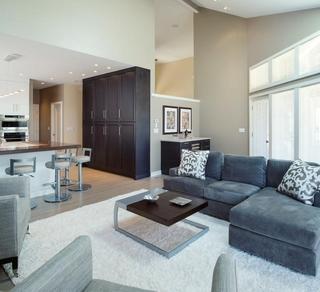 现代简约风格住宅客厅