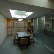 现代简约别墅设计餐厅
