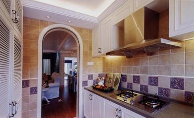 92平地中海两居室欣赏厨房橱柜