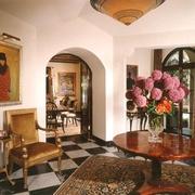 奢华欧式装饰图入户玄关设计