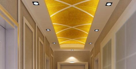 根据业主的喜好决定,但也要考虑材料特性! 室内吊顶材料