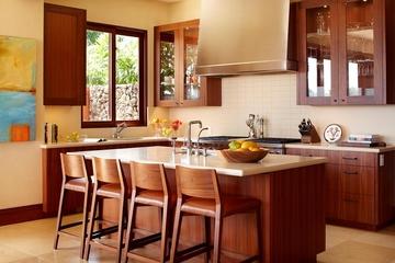 中式风格别墅套图厨房吧台