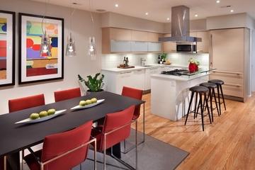 现代住宅设计图厨房