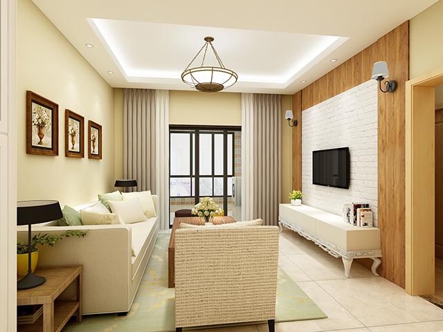 【黑科技】辛苦3个月装修的90平三居室,老公最钟意入户花园的高低柜?