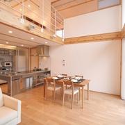 118平日式清爽别墅欣赏餐厅设计